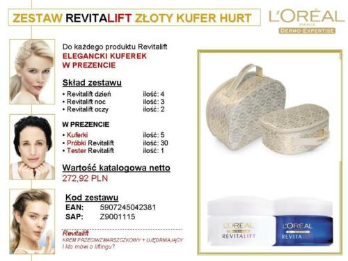 loreal revitalift zloty kufer
